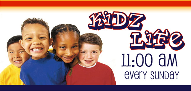 KidzLife - Sunday, 11am